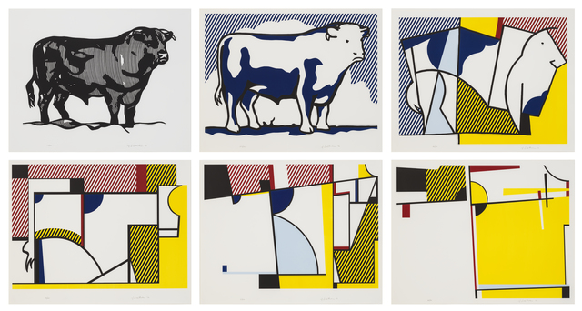 , 'Bull Profile Series,' 1973, Susan Sheehan Gallery
