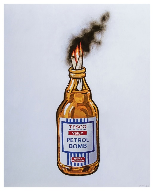 Banksy, 'Tesco Value Petrol Bomb', c. 2011, Forum Auctions