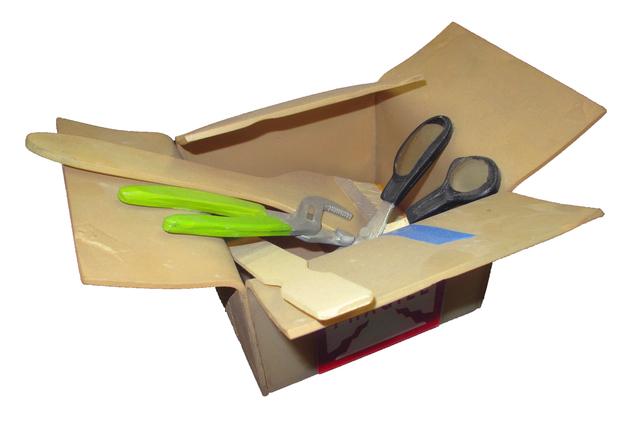 , 'Cardboard Box with Tools,' , Lois Lambert Gallery