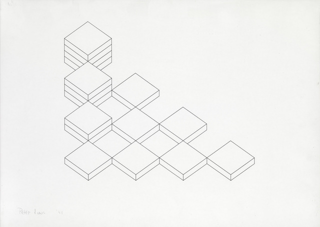 , 'Drawing: Volume & Void,' 1981, Waterhouse & Dodd