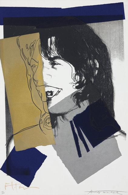 , 'Mick Jagger F&S II.142,' 1975, Fine Art Mia