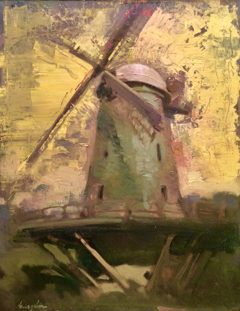 , 'Windmill at Golden Gate,' 2017, Sue Greenwood Fine Art