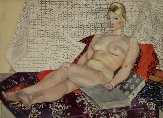 , 'Reclining Nude at Hammersmith,' 1959, Freymond-Guth Fine Arts Ltd.