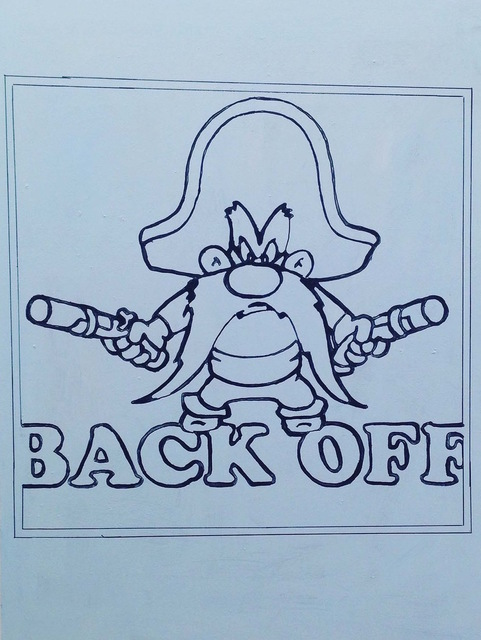 , 'Back Off,' 2016, Baahng Gallery