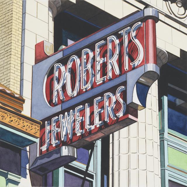 , 'Roberts Jewelers,' 2013, Miles McEnery Gallery