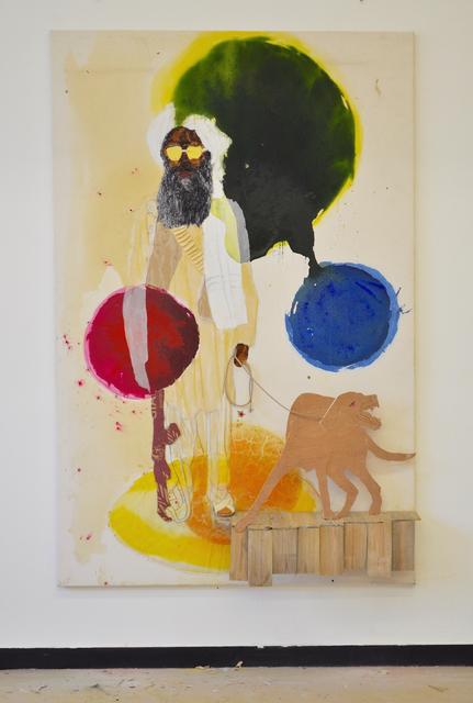 Maurice Thomassen, 'Feuilleton : Terror', 2015, Mixed Media, Mixed media on canvas, NL=US Art