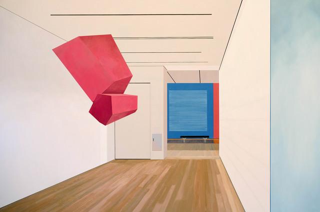 Sarah McKenzie, 'Suspension (Yale University Art Gallery with Sol Lewitt and Joel Shapiro, 2018)', 2019, David B. Smith Gallery