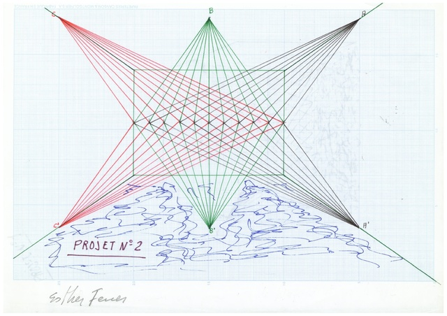 , 'Proyectos espaciales #2,' 1980, àngels barcelona