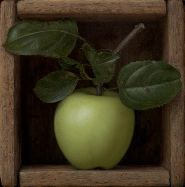 , 'Boxed Green Apple,' ca. ca. 2014, Quidley & Company