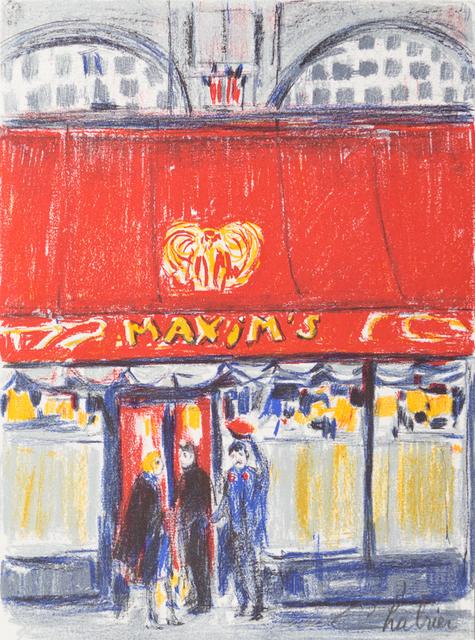 Nathalie Chabrier, 'Autour du Monde', 1982, Art Lithographies