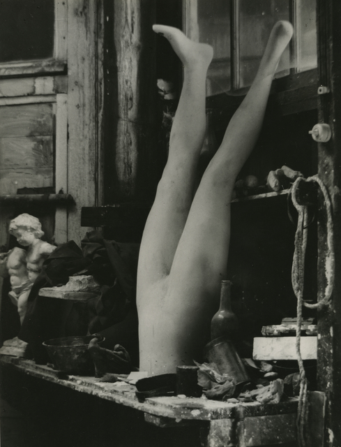 , 'Interior of sculpture's studio, Paris,' 1925, James Hyman Gallery