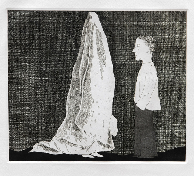 David Hockney, 'The Sexton Disguised as a Ghost', 1969, Goldmark Gallery