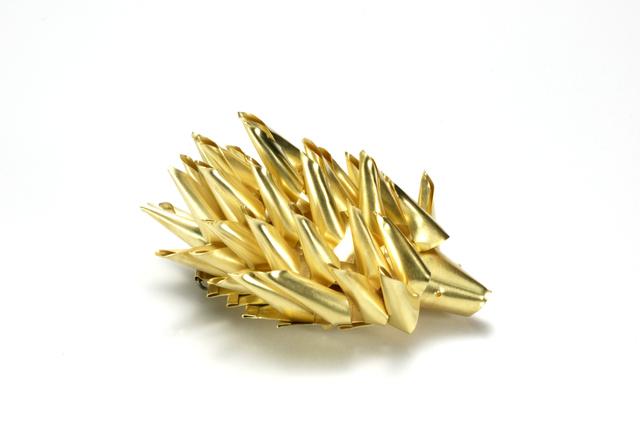 , 'Hedghog brooch,' 2008, Caroline Van Hoek