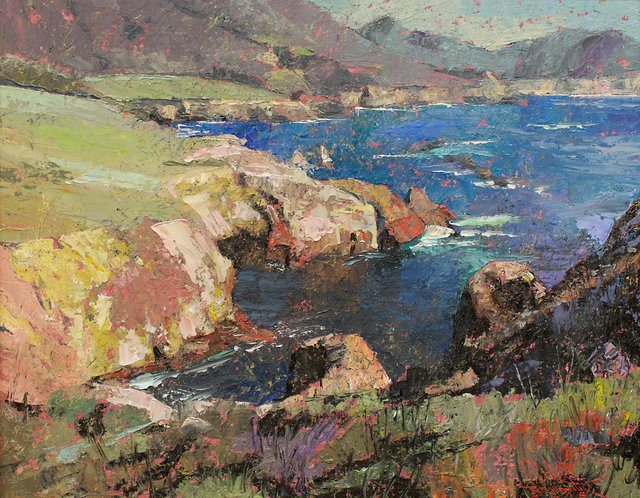 , 'Rocky Point Big Sur California ,' 2015, Gallery 1261
