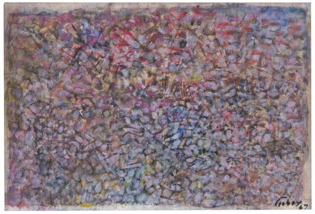 , 'Deserted Garden,' 1967, Galleria Tega