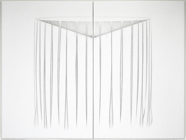 , ''vessel - curtain' work #12 diptych,' 2018, Trish Clark Gallery