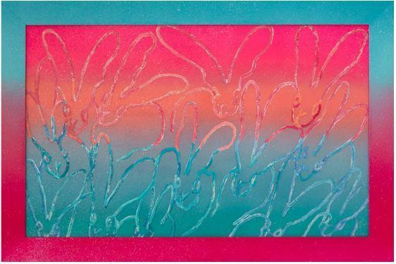 Hunt Slonem, 'Diamonds', 2019, Diehl Gallery
