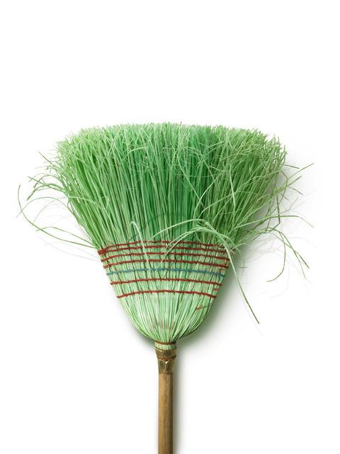 , 'Broom Series: Untitled (Green),' 2007, Ruiz-Healy Art