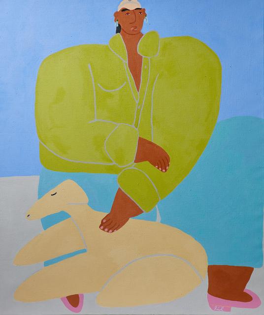 , 'Yellow Dog,' 2019, Ochi Projects
