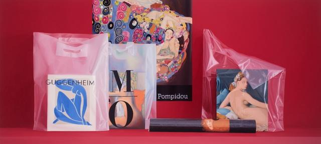 Carlos Vega Faúndez, 'Serie Museos. Composición con bolsas', 2018, Ansorena Galeria de Arte