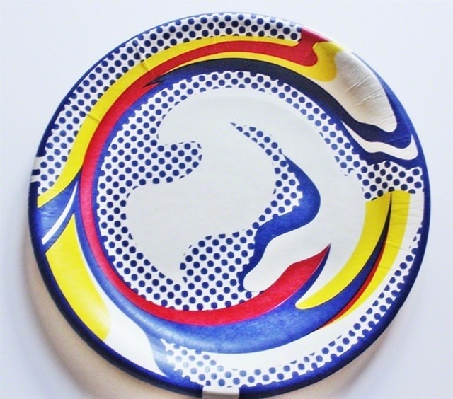 Roy Lichtenstein, 'Screenprinted Paper Plate, 1969', 1977, Alpha 137 Gallery Auction