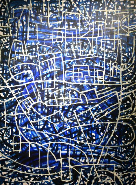 , 'Sound in Blue #2,' 2018, Carter Burden Gallery
