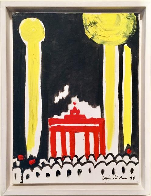 Karl Horst Hödicke, 'Raketen über dem Brandenburger Tor', 1990, AMELCHENKO