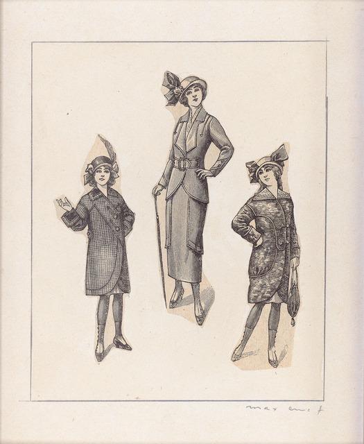 Max Ernst, 'Une Gouvernante et Deux Demoiselles', 1972, Sims Reed Gallery