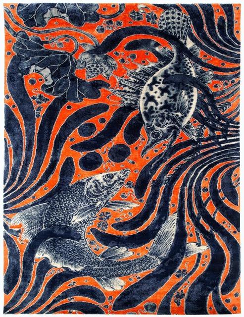 , 'Aquatic Life,' 2016, Joseph Carini Carpets