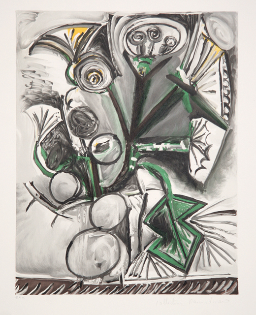 Pablo Picasso, 'Le Bouquet, 1969', 1979-1982, Print, Lithograph on Arches paper, RoGallery