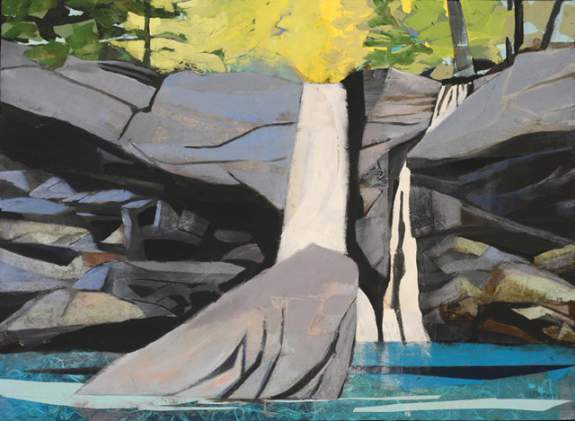 , 'Waterfall, Rock that Fell to Earth ,' 2015, Visions West Contemporary