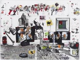Zak Smith, 'Still Life with Bill Haydon's Painting', 2013, Fredericks & Freiser