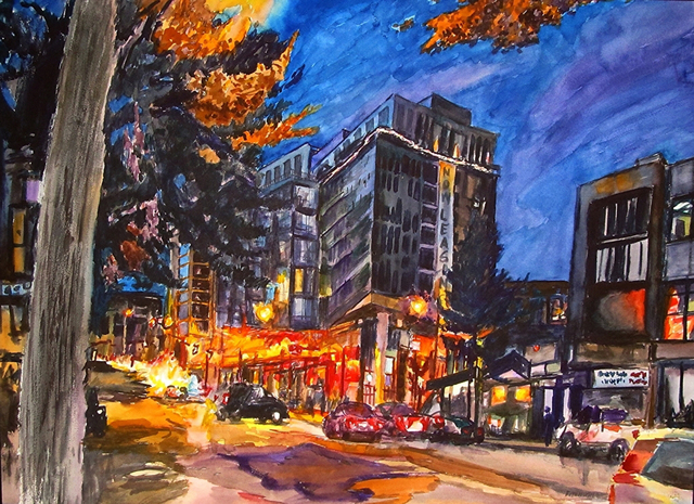, '14th St. Near Florida Ave., NW,' , Zenith Gallery
