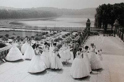 Loomis Dean, 'Gathering for Morning Rehearsal, American Debutante Ball', 1958, Photography, Silver Gelatin Print, Contessa Gallery