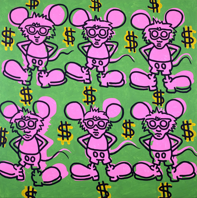 , 'Andy Mouse,' 1985, de Young Museum