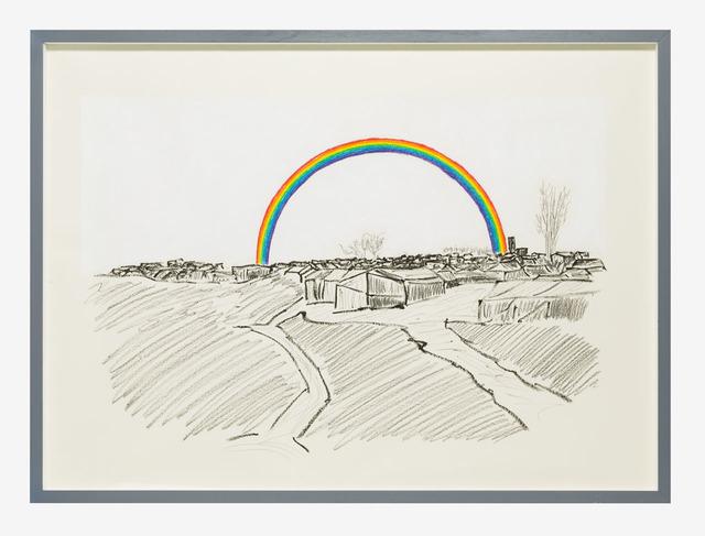 , 'Histoire et destin - New Man's Land (Rainbow),' 2016, Lia Rumma