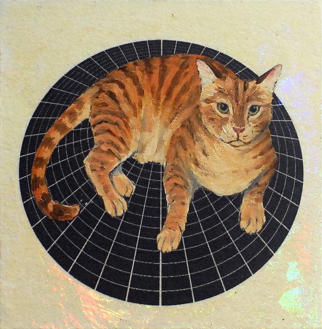 Alexis Kandra, 'Stripe Cat', 2019, Deep Space Gallery