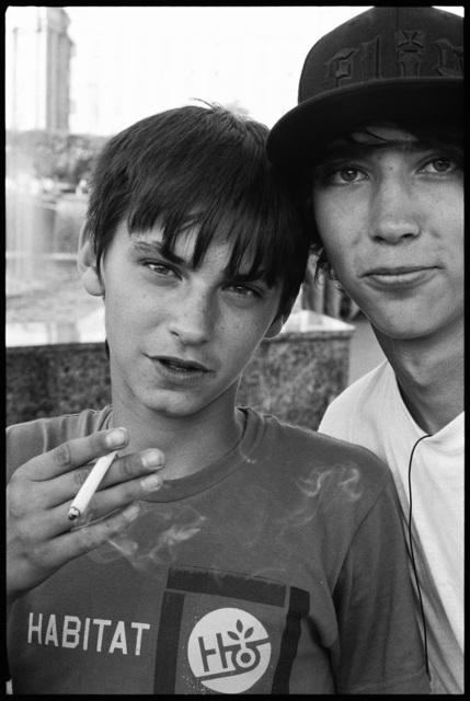 , 'Teen Smokers, St. Petersburg, Russia ,' 2007, Casemore Kirkeby