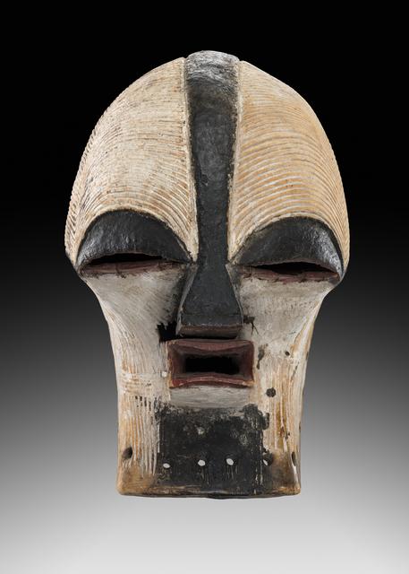 , 'Songye Mask,' ca. 1930, Didier Claes