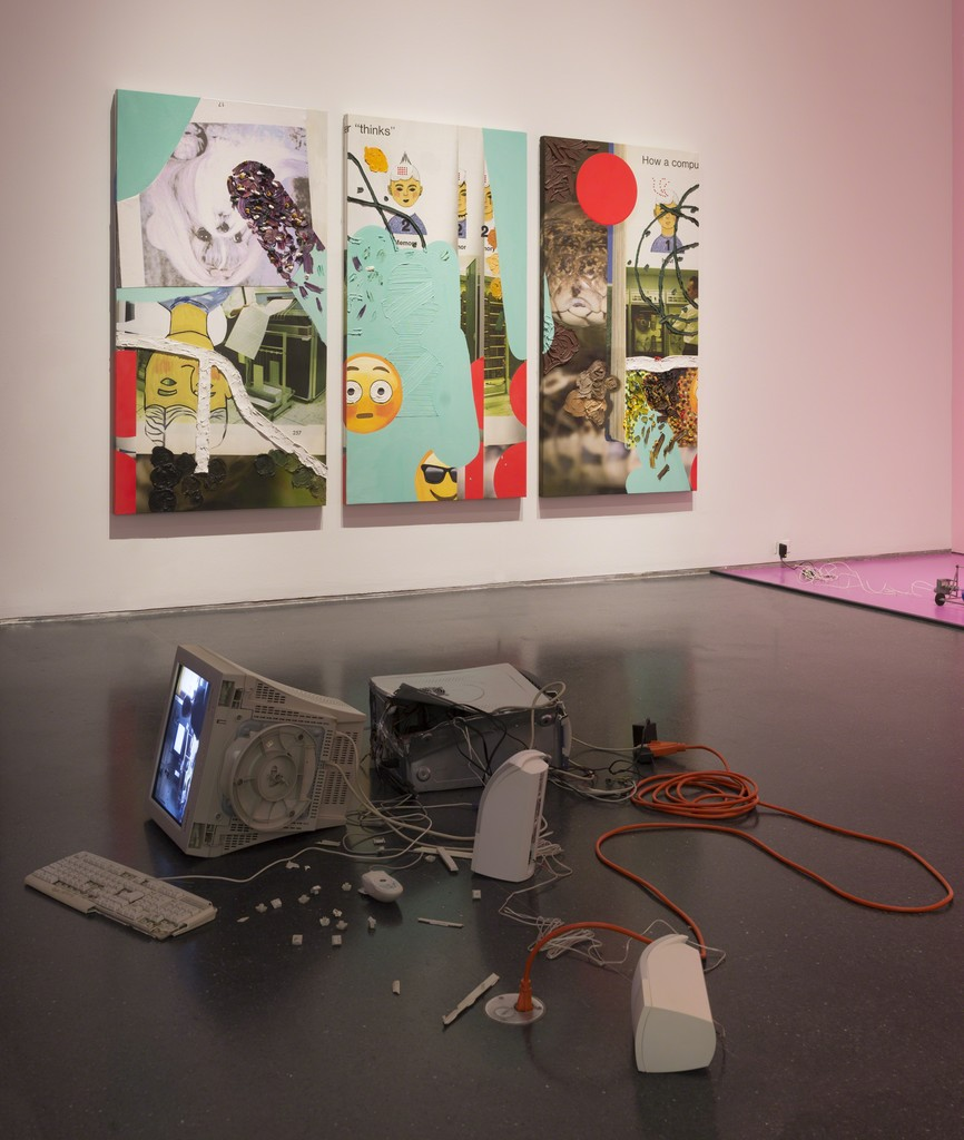 Installation view, I Was Raised on the Internet, MCA Chicago June 23-October 14, 2018 Photo: Nathan Keay, © MCA Chicago.