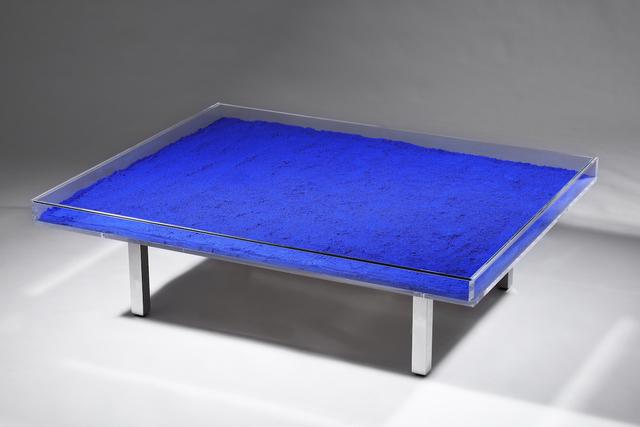 Yves Klein, 'Table Blue', 1928-1962, Asia University Museum of Modern Art