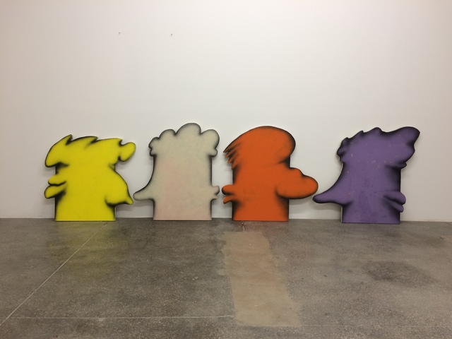 , 'Another family romance (Lemon), (Unbleached), (Orange), (Purple),' 2017, Galerie Lisa Kandlhofer