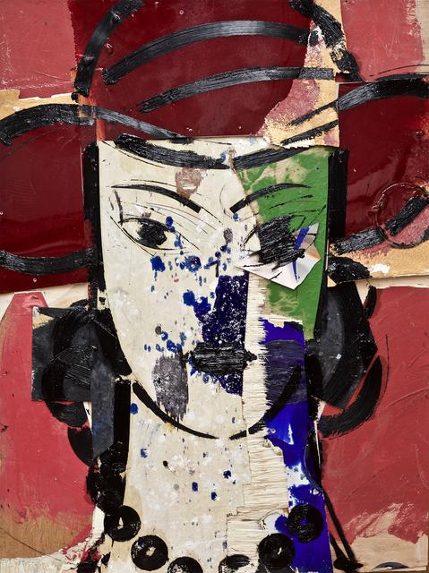 , 'Cabeza con Sombrero Rojo,' 2019, Opera Gallery