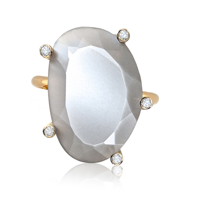 , 'Glowing Moonstone Diamond Ring,' 2015, Szor Collections