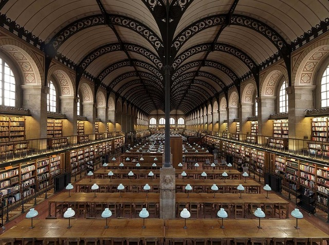 , 'Sainte Genevieve Library, Paris, France,' 2016, CHROMA GALLERY