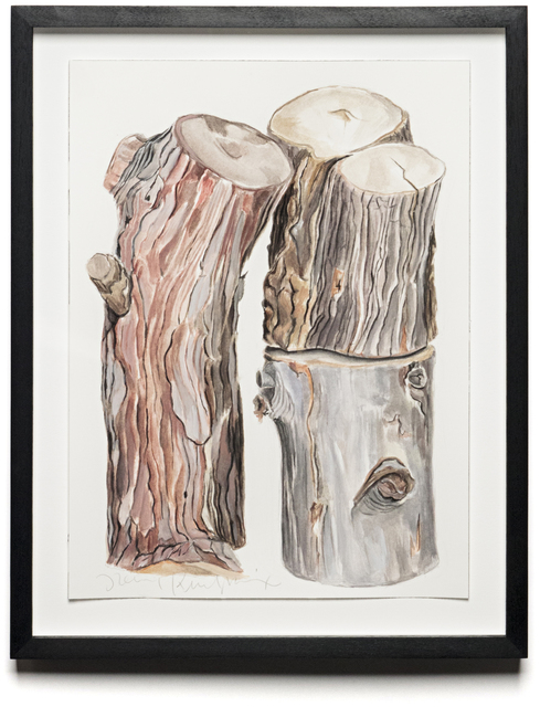 , 'CORDWOOD STUDY: PINE,' 2013, Traver Gallery