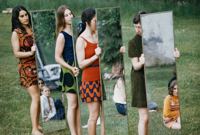 , 'Mirror performance III,' 1969, Galleria Raffaella Cortese