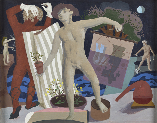 , 'Evolution (Four Nude Figures),' ca. 1977, The Scottish Gallery