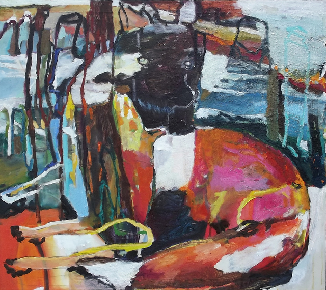 Sandra Peterson, 'Fox with Cacti', 2015, Wantoot