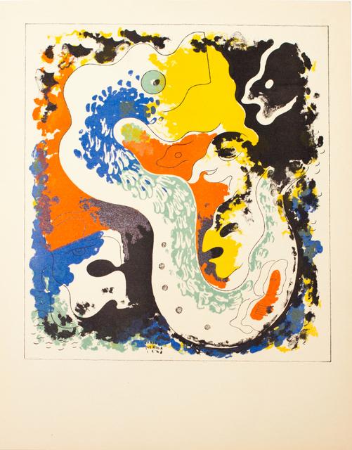 Carlos Merida, 'Estampas de Popol Vuh (Plate I)', 1943, Hecho a Mano